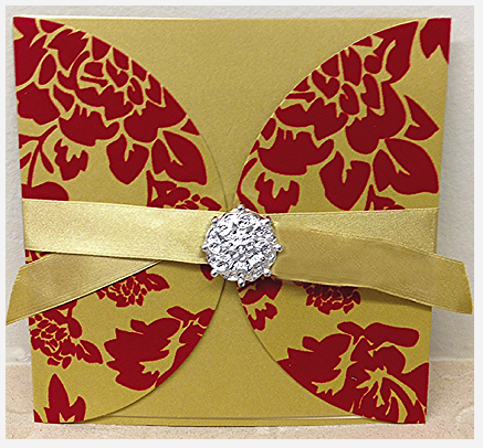 A019 Indian Wedding Card