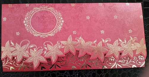 Muslim Wedding Invitation Cards – A045 – R In Texas, California, Ohio
