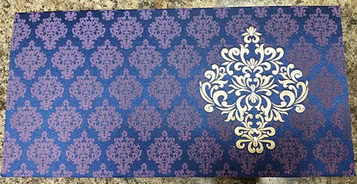 Muslim Wedding Cards Online A046