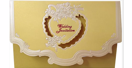 A05-Y Indian Wedding Card