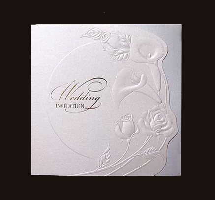 A09-W Indian Wedding Cards