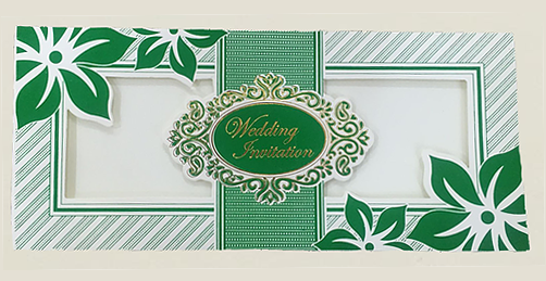 A27 Muslim Wedding Cards