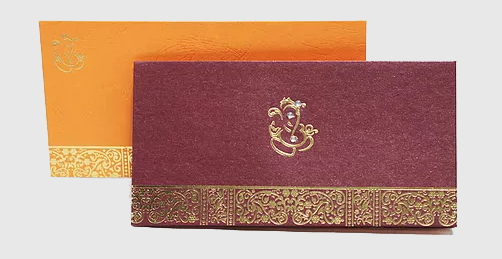 Desi Hindu Wedding Invitations – H06