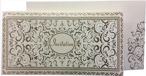 A052 Unique Indian Wedding Card